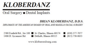 Kloberdanz Oral Surgery -2018